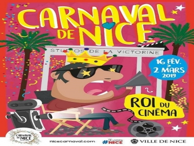 Nice Carnival from 16 th February to 2 nd March 2019.